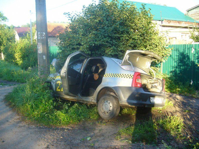ВЯрославле злоумышленники угнали такси вместе сводителем