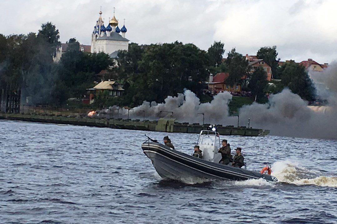 ВЯрославле военные перекроют дороги исудовой фарватер
