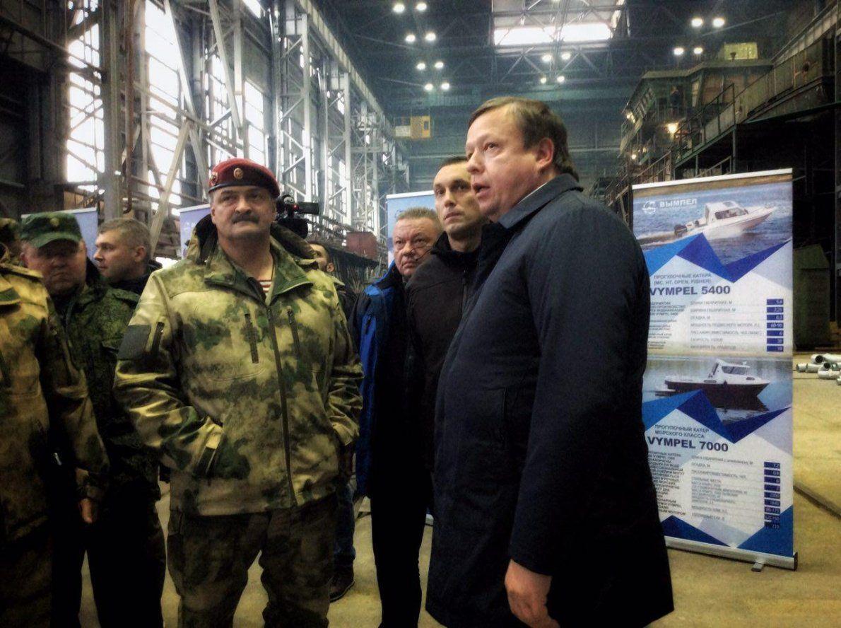 Корабли, выпускаемые вЯрославской области, могут встать навооружение Росгвардии