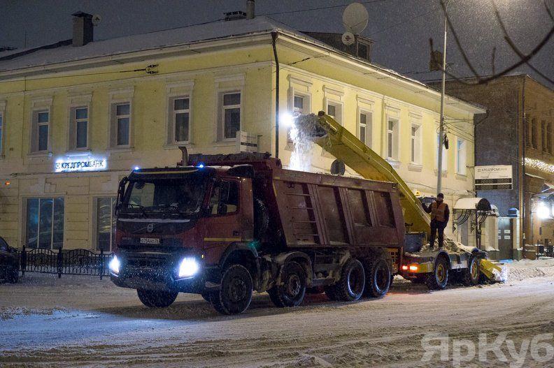 ВЯрославле опять введут «снежный билет» для владельцев автомобилей