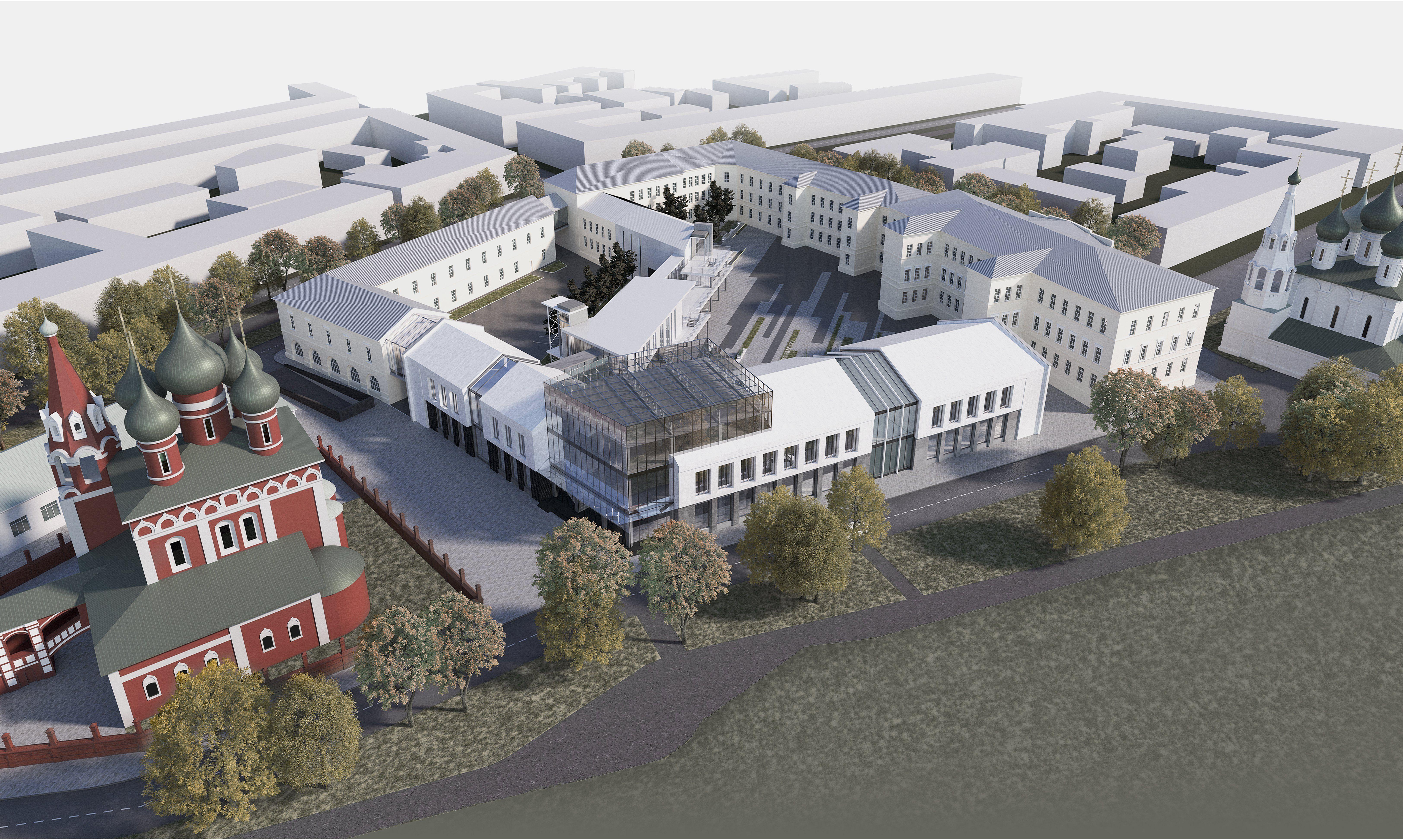 Ярославские архитекторы рассказывают о своих дипломных проектах  Ярославские архитекторы рассказывают о своих дипломных проектах