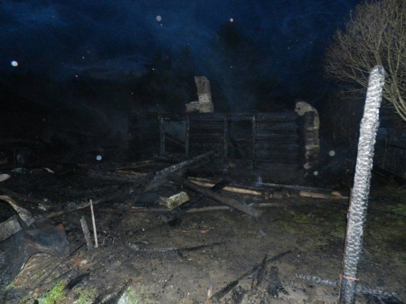ВЯрославской области впламени погибла пенсионерка