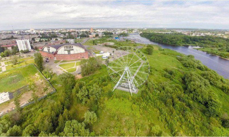 ВЯрославле начали строить колесо обозрения