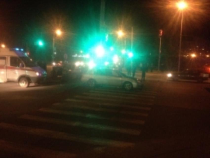 ВРыбинске две иномарки неподелили дорогу: имеется пострадавший