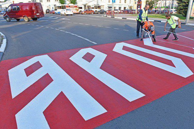 ВЯрославле появился пешеходный переход вдревнерусском стиле