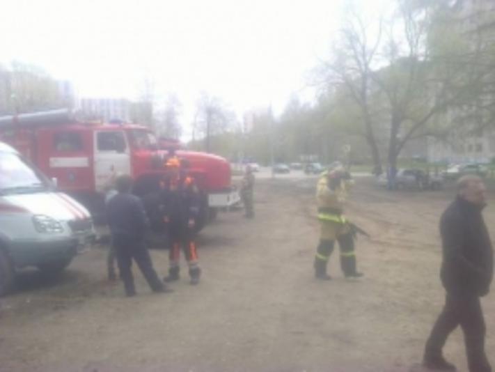 Напожаре наКрасных Мадьяр вИркутске умер  мужчина