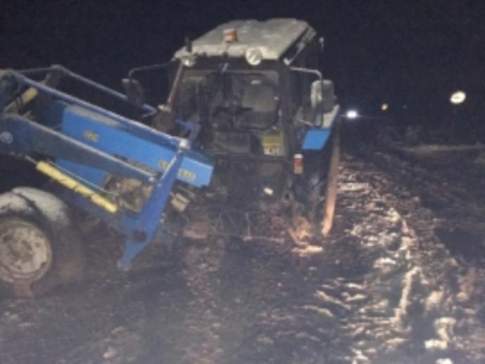 Трактор илегковушка столкнулись вЯрославском районе
