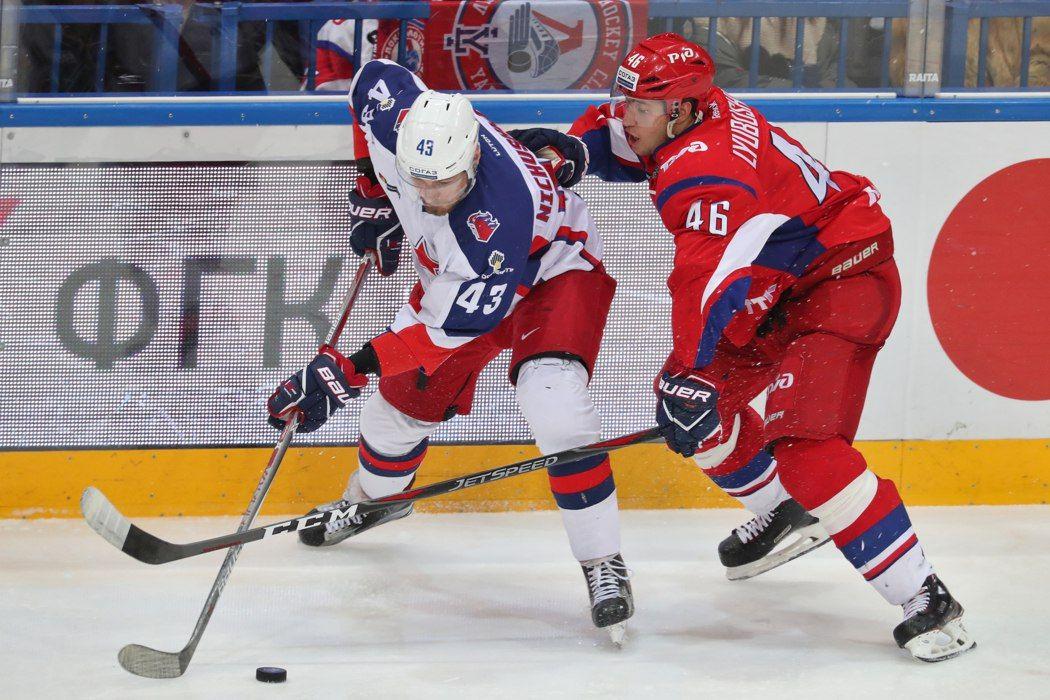 ЦСКА прервал четырехматчевую победную серию «Локомотива» вКХЛ