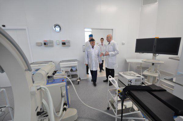 ВЯрославле после ремонта открылся хирургический корпус клиники имени Семашко