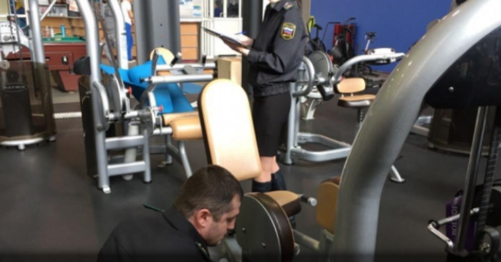 Приставы арестовали крупный ярославский фитнес-клуб задолги по заработной плате