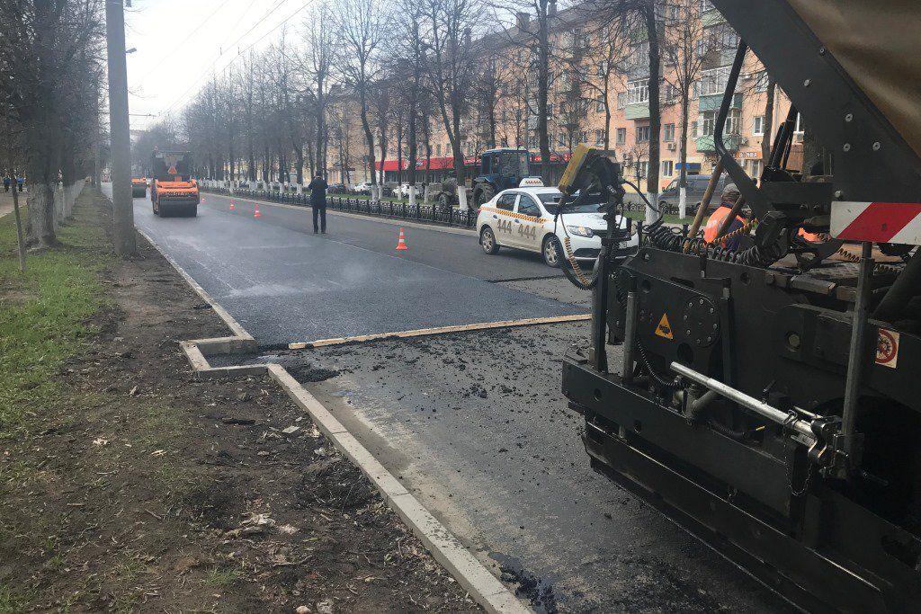 Ремонт проспекта Ленина вЯрославле собираются закончить кДню города