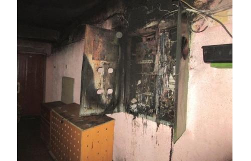 ВЯрославле вовремя пожара вдевятиэтажке спасли маму счетырьмя детьми