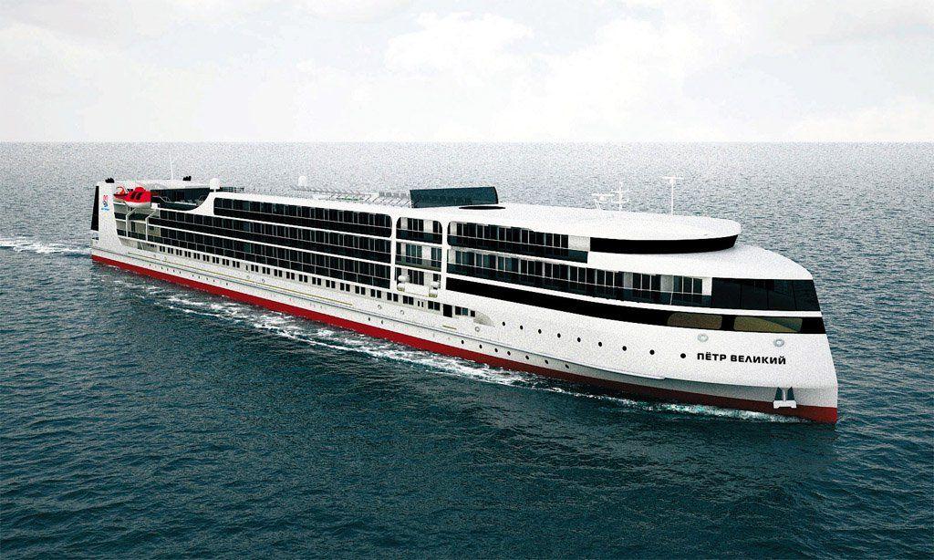 Строящийся вАстрахани круизный лайнер получил первые маршруты
