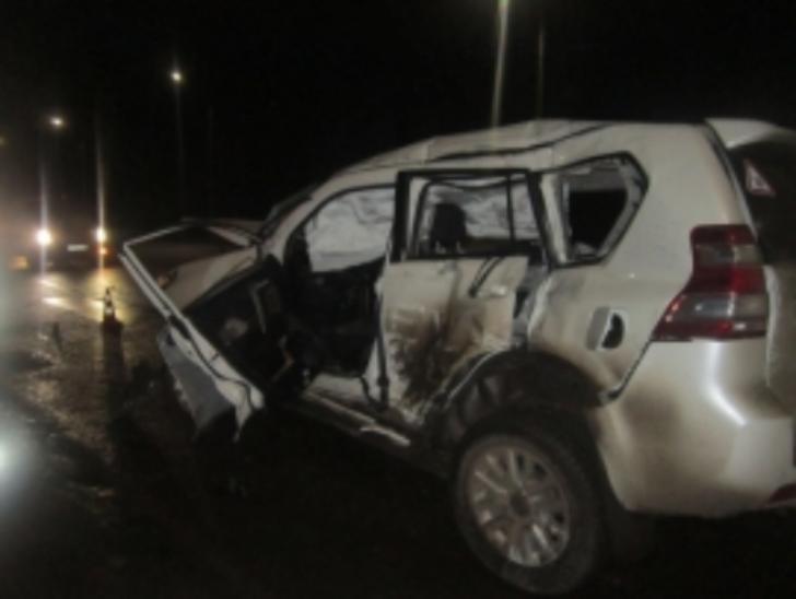Под Ярославлем столкнулись джип  иавтобус «ПАЗ»