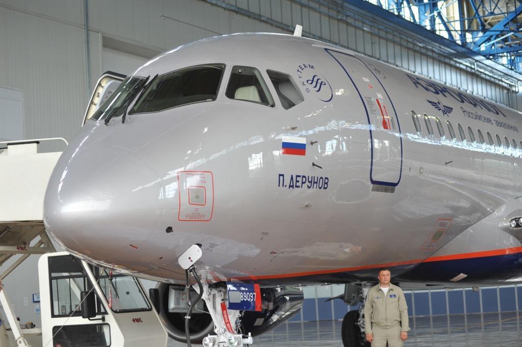 «Аэрофлот» получил новый Superjet 100