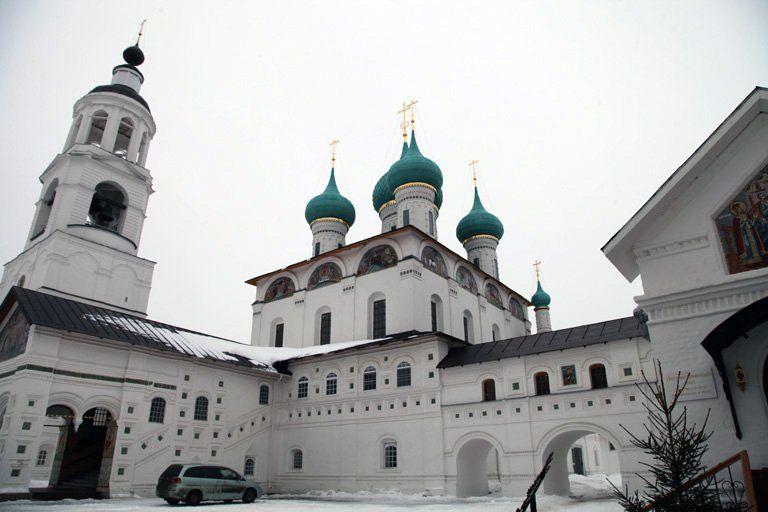 Толгский монастырь под Ярославлем празднует 30-летие своего восстановления