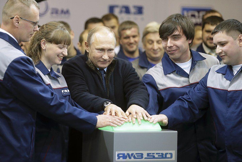 В.В.Путин в Ярославле. 1.09.2017.
