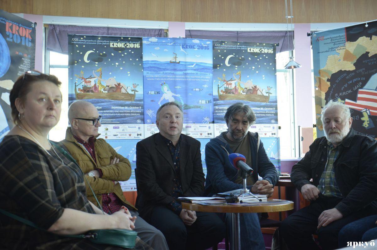 Международный фестиваль анимационных фильмов «Крок» закончился вЯрославле