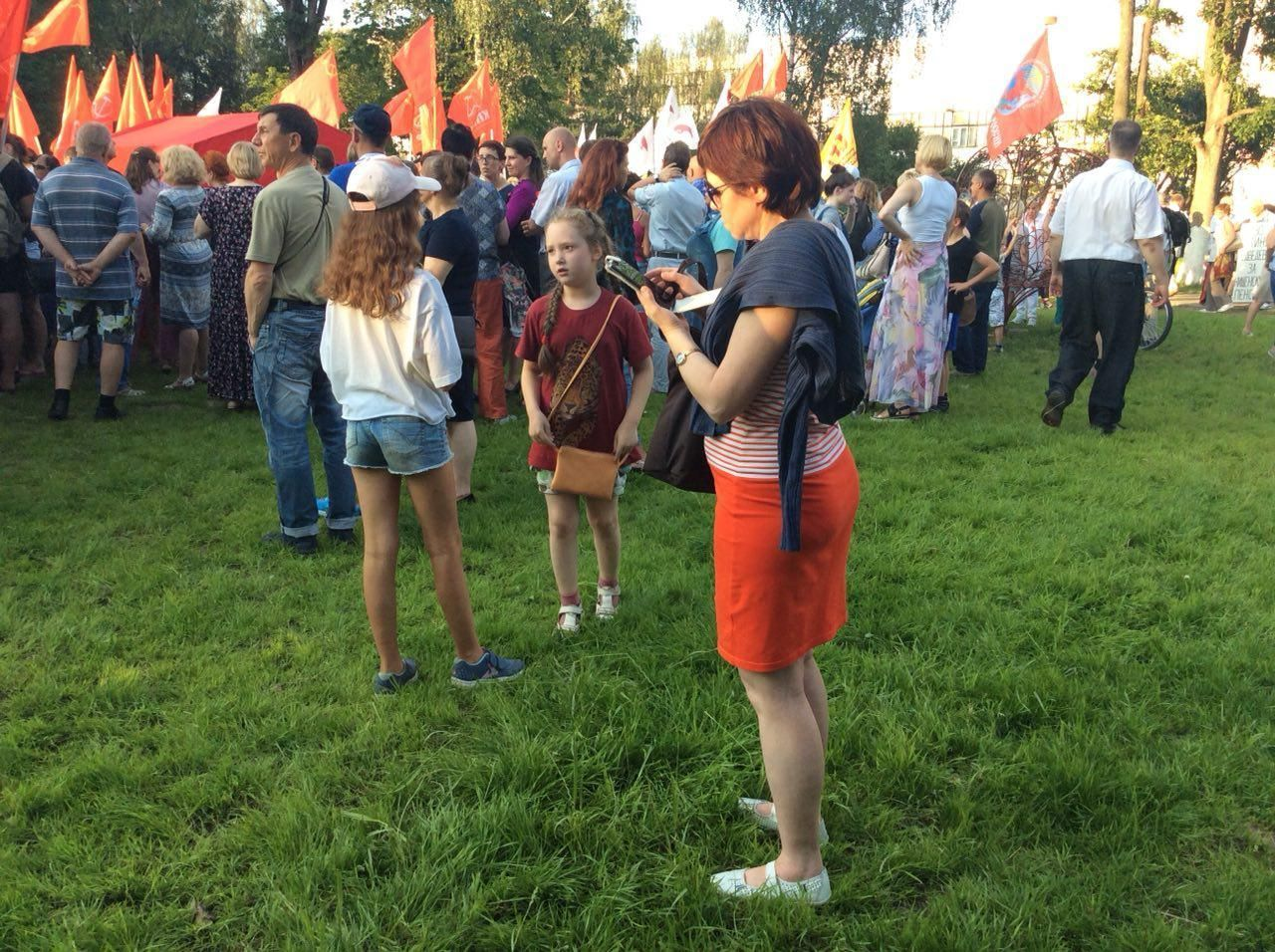 Старость неврадость: вВоронеже прошли два митинга против пенсионной реформы